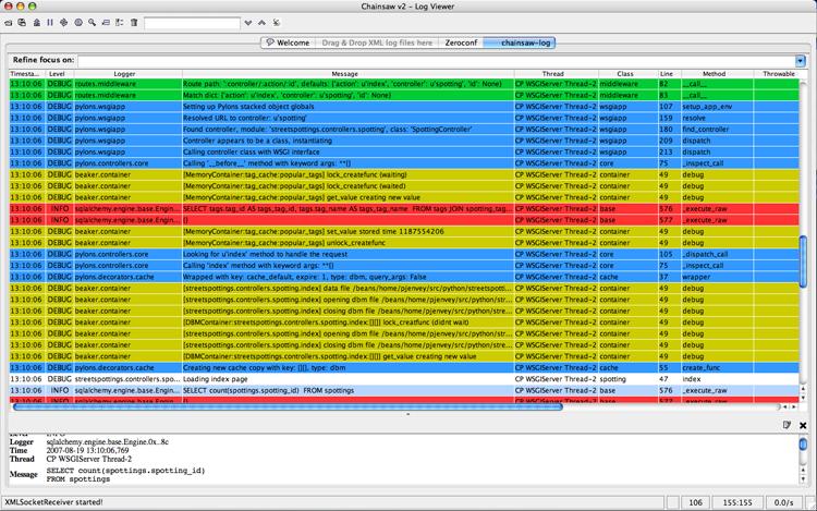 Logging — Pylons Framework 1 0 2 documentation