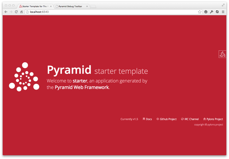 pyramid_debugtoolbar — pyramid_debugtoolbar 4 5 documentation